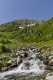 View from Romanian Carpathian Mountains Royalty Free Stock Image