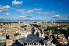 View of Rome Stock Images