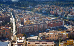 View on Rome Royalty Free Stock Photo