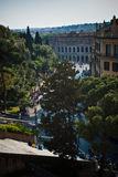 View on Rome. Panoramic view on Rome city Royalty Free Stock Photography
