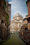 View on Rome. Panoramic view on Rome city Stock Photos