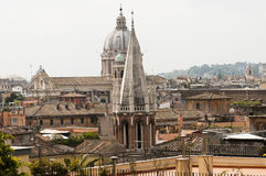 View of Rome from above Royalty Free Stock Image