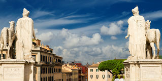 View of Rome from Capitol Hill Royalty Free Stock Image
