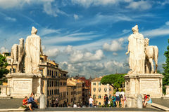 View of Rome from the Capitoline Hill Royalty Free Stock Photos
