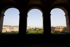 View of Rome from Castel Royalty Free Stock Images