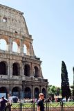 View of Rome city old center on June 1, 2014 Stock Photo