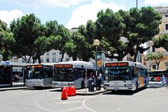 View of Rome city Termini station on June 1, 2014 Stock Photography