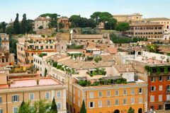 View of Rome cityscape Royalty Free Stock Image