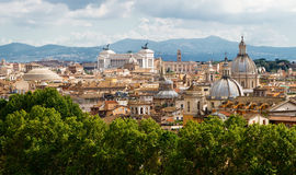 View of Rome cityscape Royalty Free Stock Images