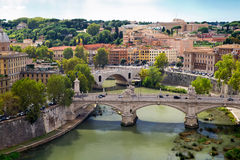 View of Rome cityscape Stock Photography