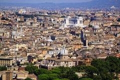 View of Rome, Italy Stock Photos