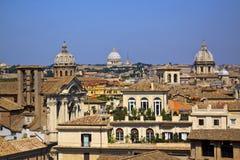 View of Rome, Italy. Italy, Rome, bird's eye view Royalty Free Stock Photos