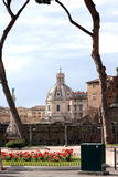 View of Rome Italy Royalty Free Stock Photography