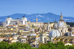 View of Rome, Italy Royalty Free Stock Images