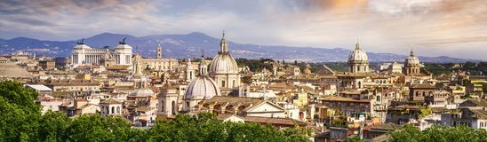 View of Rome, Italy, Europe Stock Images