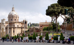 View of Rome Italy Stock Images