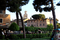 View of Rome Italy Royalty Free Stock Photo