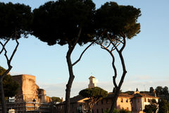 View of Rome Italy Royalty Free Stock Images
