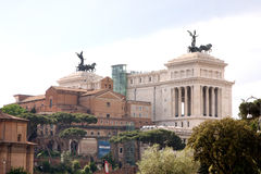 View of Rome Italy Stock Image