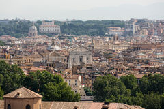 View of Rome from Janiculum Hill, Stock Image