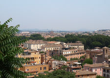 View of Rome from Janiculum Hill Stock Photos