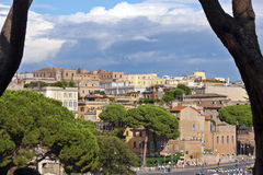 View in Rome Royalty Free Stock Image