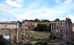 View in Rome Royalty Free Stock Photos