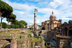 View in Rome Stock Photos