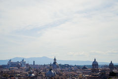 View of Rome from the top Royalty Free Stock Photography