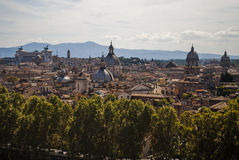 View of Rome from the top Stock Image