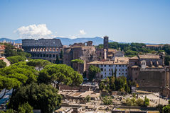 View of Rome from the top Stock Photography