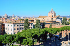 View of Rome Royalty Free Stock Photo