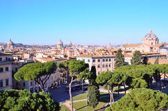 View of Rome Stock Photography