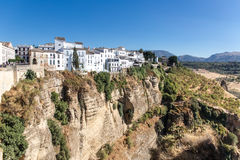 View of Ronda, Andalusia Spain Royalty Free Stock Photos