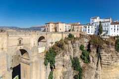 View of Ronda, Andalusia Spain Royalty Free Stock Images