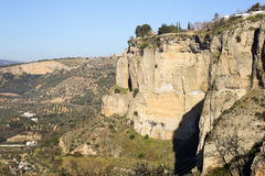 View upon Ronda Royalty Free Stock Photo