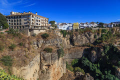 View on Ronda, Spain Stock Image