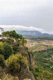 The view from Ronda, Spain Royalty Free Stock Photos