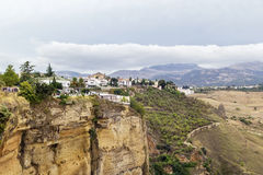 The view in Ronda, Spain Stock Photography
