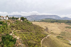 View in Ronda, Spain Stock Photos