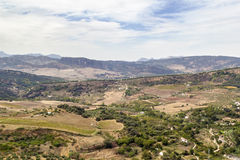 The view from Ronda, Spain Stock Photo