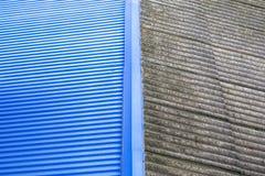 Asbestos Shingle Stock Image Image Of Rust Grey