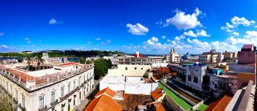 View roof of old houses royalty free stock photo