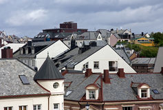 View of roofs. In Alesund Norway Royalty Free Stock Photography