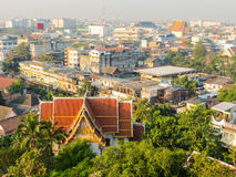 View on the roofs of Bangkok, Thailand Stock Photos