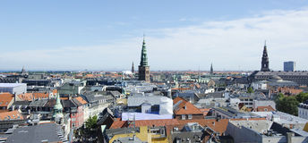 View on the Roofs of Copenhagen, Denmark Stock Photos