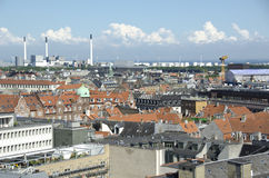 View on the Roofs of Copenhagen, Denmark Stock Photography