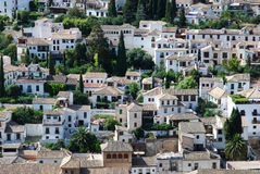 View on roofs of Granada Stock Photography