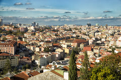 View of roofs of Lisboa Royalty Free Stock Image