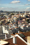 View of roofs of Lisboa Stock Photography
